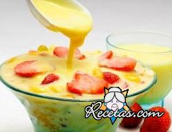 Crema pastelera con leche condensada