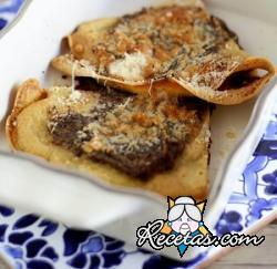 Crepes gluten free con harina de garbanzos