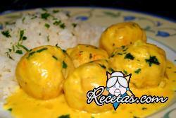 Croquetas de ternera al curry