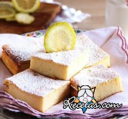 Cuadrados de ricota y limón