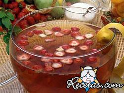 Cup con frutillas
