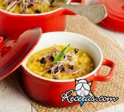 Dahl, la sopa india de lentejas rojas