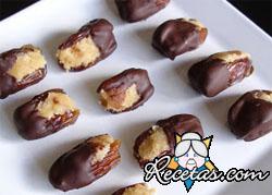 Dátiles al chocolate