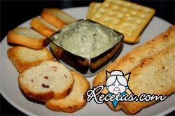 Dip de queso roquefort