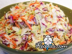 Ensalada de coles (coleslaw)