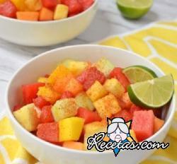 Ensalada de frutas a la mexicana