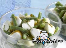 Ensalada de habichuelas verdes y patatas