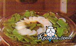 Ensalada de patatas y habichuelas verdes