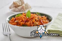 Ensalada de zanahoria y nueces