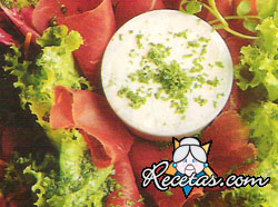Ensalada de radichio rosso