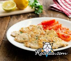 Escalopes de ternera al limón