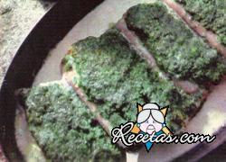 Filetes de pescado con hierbas
