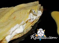 Filloas a la crema