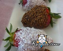 Fresas de los enamorados