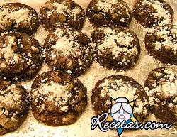 Galletas de chocolate y mantequilla (roquitas)