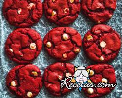 Galletas Red Velvet