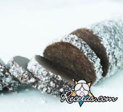 Galletas sableé al cacao y flor de sal