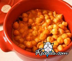 Garbanzos al curry