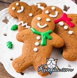 Gingerbread, las clásicas galletas de jengibre de Navidad
