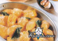 Gnocchi amarillos