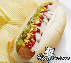 Hot Dogs a lo tico