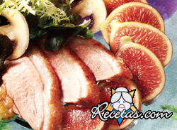 Higos marinados con costillas de cerdo