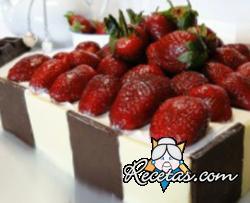 Hojaldre de fresas