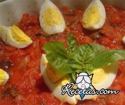 Huevos a la pizzaiola