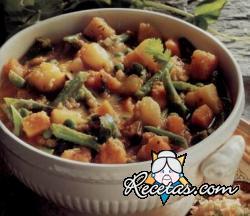 Kath katha. Curry de verduras a la manera de Goa