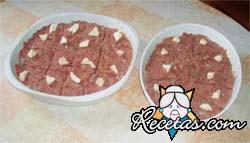 Kebbe (picadillo de carne cruda condimentado)