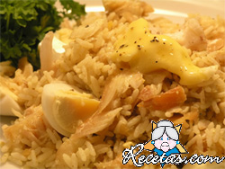 Kedgeree con curry