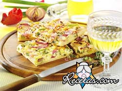 Kuchen de Cebolla - Zwiebelkuchen
