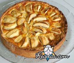 kuchen de manzana facil
