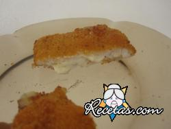 Libritos de pollo y queso