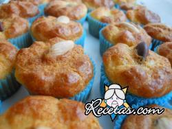 Mini muffins de queso