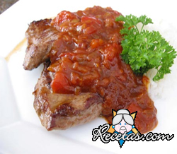 Monkey gland steak