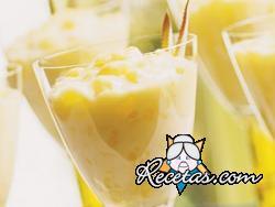 Mousse de ananá