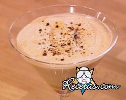 Mousse de chocolate blanco y moka