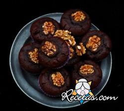 Muffin al triple chocolate