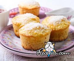 Muffins de coco