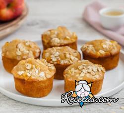 Muffins de manzana y nuez