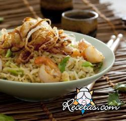 Nasi Goreng: plato típico de la cocina indonesia