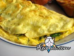 Omelette a las hierbas