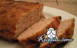 Pan de carne con jamón del diablo