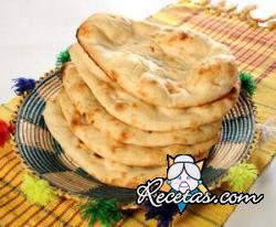 Pan indio Naan