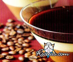 Panna cotta de café, chocolate y limón