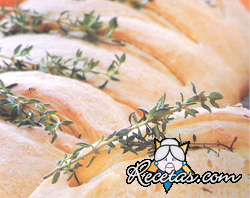 Pan de tomillo