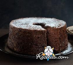 Pastel chiffon de cacao