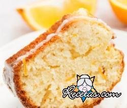 Pastel de naranja suave