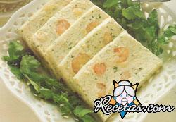 Pastel de pescadilla y langostinos